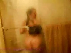 Amateur Surprised In Shower By Female Room Mate