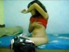 young old indian cute girl shows all
